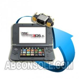Remplacement connecteur charge Nintendo New 3DS XL