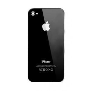 Vitre arrière Iphone 4 (noire)