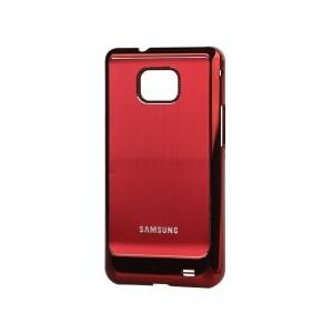 Coque de protection electro pour Galaxy S2 (rouge)