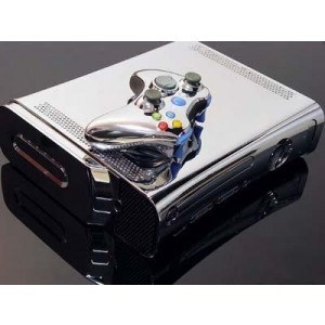 Boitier tuning Xbox 360 Chromé HDMI