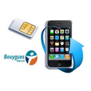 Déblocage iPhone bloqué Bouygues (FR)