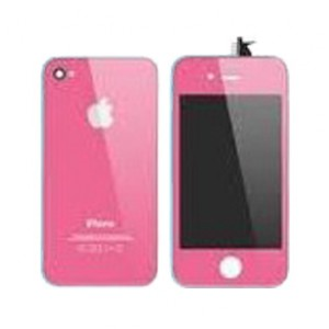 Kit complet coque iphone 4 Rose