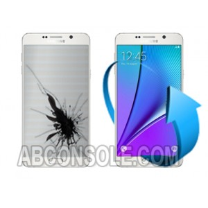 Remplacement écran Samsung Galaxy Note 5 Blanc (N920)