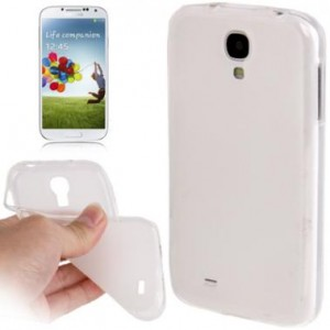 Coque de protection silicone pour Samsung Galaxy S4 (transparent)