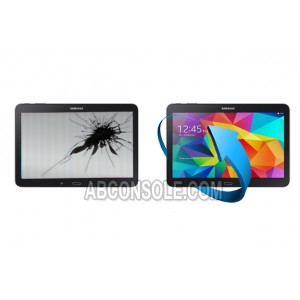 "Remplacement LCD + tactile Galaxy Tab 4 10,1""(T530) Noir"
