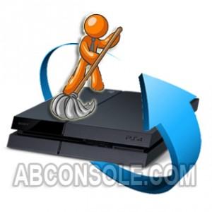 Nettoyage Playstation 4