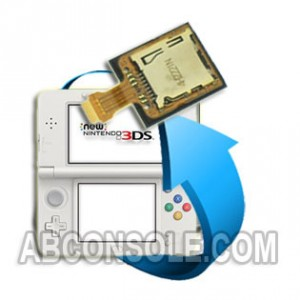Remplacement Port Micro SD Nintendo New 3DS