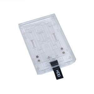 Rack disque dur Xbox 360 Slim (blanc translucide)