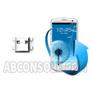 Remplacement connecteur charge Samsung Galaxy S3 (i9300)