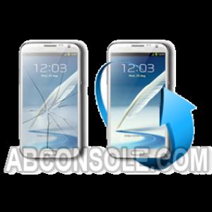 Remplacement tactile/ Amoled Galaxy Mega i9205 - Blanc