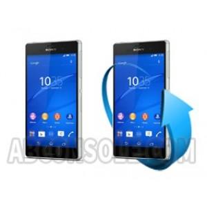 Remplacement  écran Sony xperia Z3+ / Z4