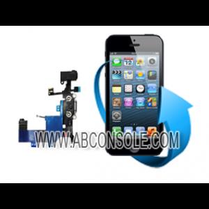 Remplacement nappe connecteur charge, micro et écouteurs Iphone 5