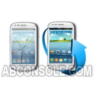 Remplacement écran Samsung Galaxy S3 Mini blanc (i8190)