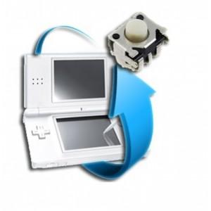 Remplacement Bouton L ou R Nintendo DS Lite