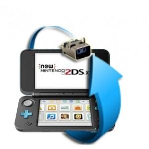 Remplacement connecteur charge Nintendo New 2DS XL