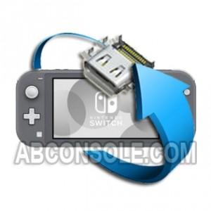 Remplacement connecteur charge Nintendo Switch Lite