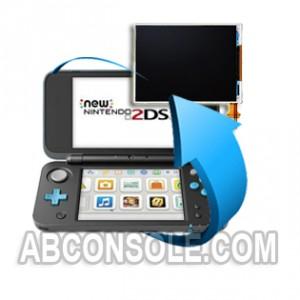 Remplacement écran LCD Nintendo New 2DS XL (Bas)
