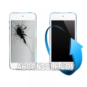 Remplacement écran LCD + tactile Ipod touch 5 (blanc)