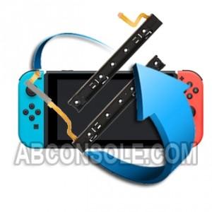 Remplacement Glissière gauche ou droite Nintendo Switch