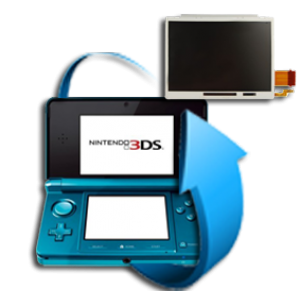 Remplacement écran LCD Nintendo 3DS