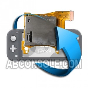 Remplacement port jeu Nintendo Switch Lite