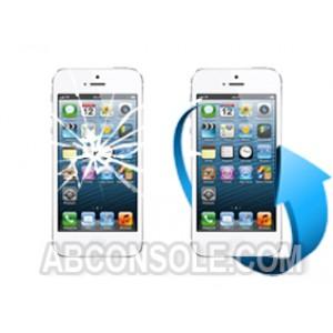 Remplacement écran iPhone 5 blanc