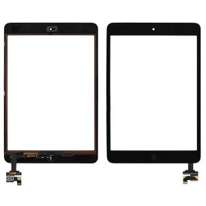 Vitre tactile iPad mini (noir)