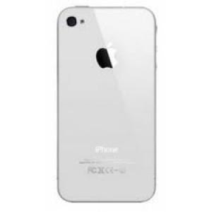 Vitre arrière Iphone 4 (blanche)
