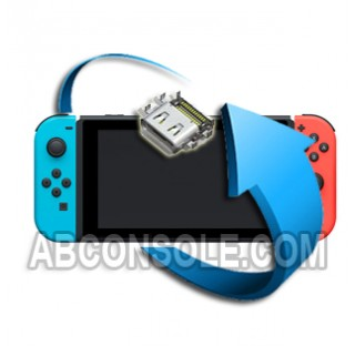 Remplacement connecteur charge Nintendo Switch