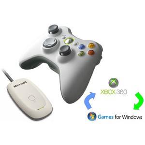 Adaptateur manette Xbox 360 sans fil pour PC
