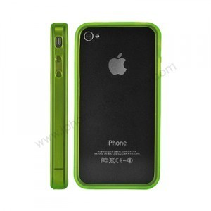 Bumper pour Iphone 4 (vert)