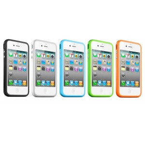 Bumper pour Iphone 4 (blanc)