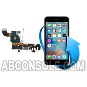 Remplacement nappe connecteur charge, micro et écouteurs Iphone 6S