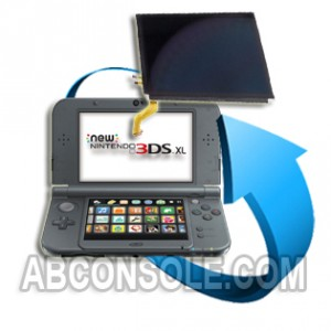 Remplacement écran LCD Nintendo New 3DS XL (Haut)