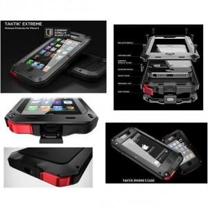 Coque Lunatik Taktik Extreme iPhone 5/5S  (Blanche)