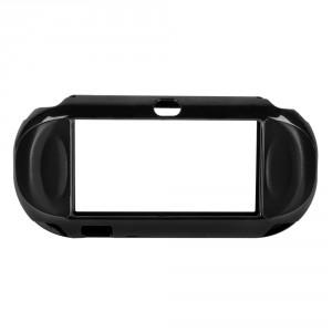 Coque de protection aluminium pour PSP VITA (noir)