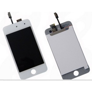Ecran LCD + tactile Ipod touch V4 (blanc)