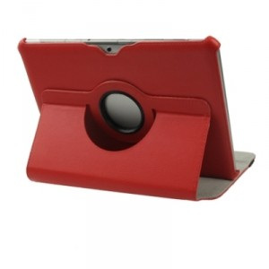 Housse protection 360° Galaxy Tab 2 - 10.1 (Rouge)