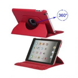 Housse protection 360° Ipad Mini (Rouge)