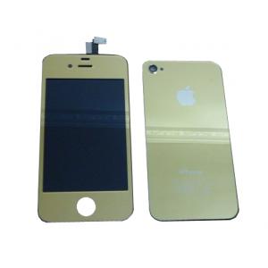 Remplacement écran + vitre arrière Iphone 4  (Or)