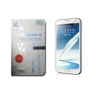 Film de protection en verre trempé Glass M pour Samsung Galaxy Note 2