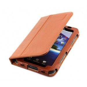 "Housse cuir pour Samsung Galaxy Tab 7"" (marron)"