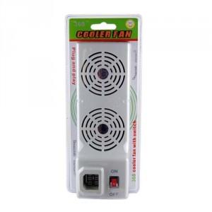 Ventilateur additionnel inter cooler Xbox 360 blanc