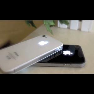 Remplacement vitre arrière lumineuse Iphone 4 (blanc)