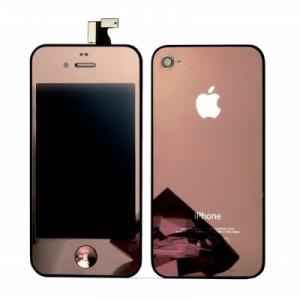 Remplacement écran + vitre arrière iPhone 4 Rose Or