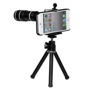 Coque + zoom 8x + trépied pour iphone 5 / 5S