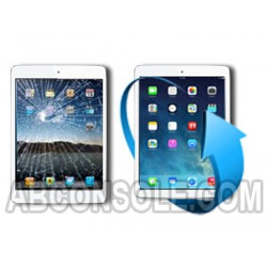 Remplacement vitre tactile iPad Air (Blanc)
